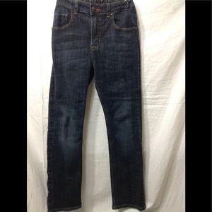 Boy's size 12 WRANGLER adjustable waist jeans
